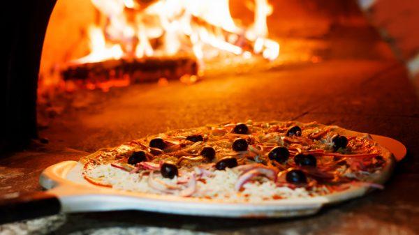 cottura pizza